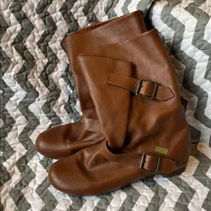 Blowfish Brown Buckle Boots